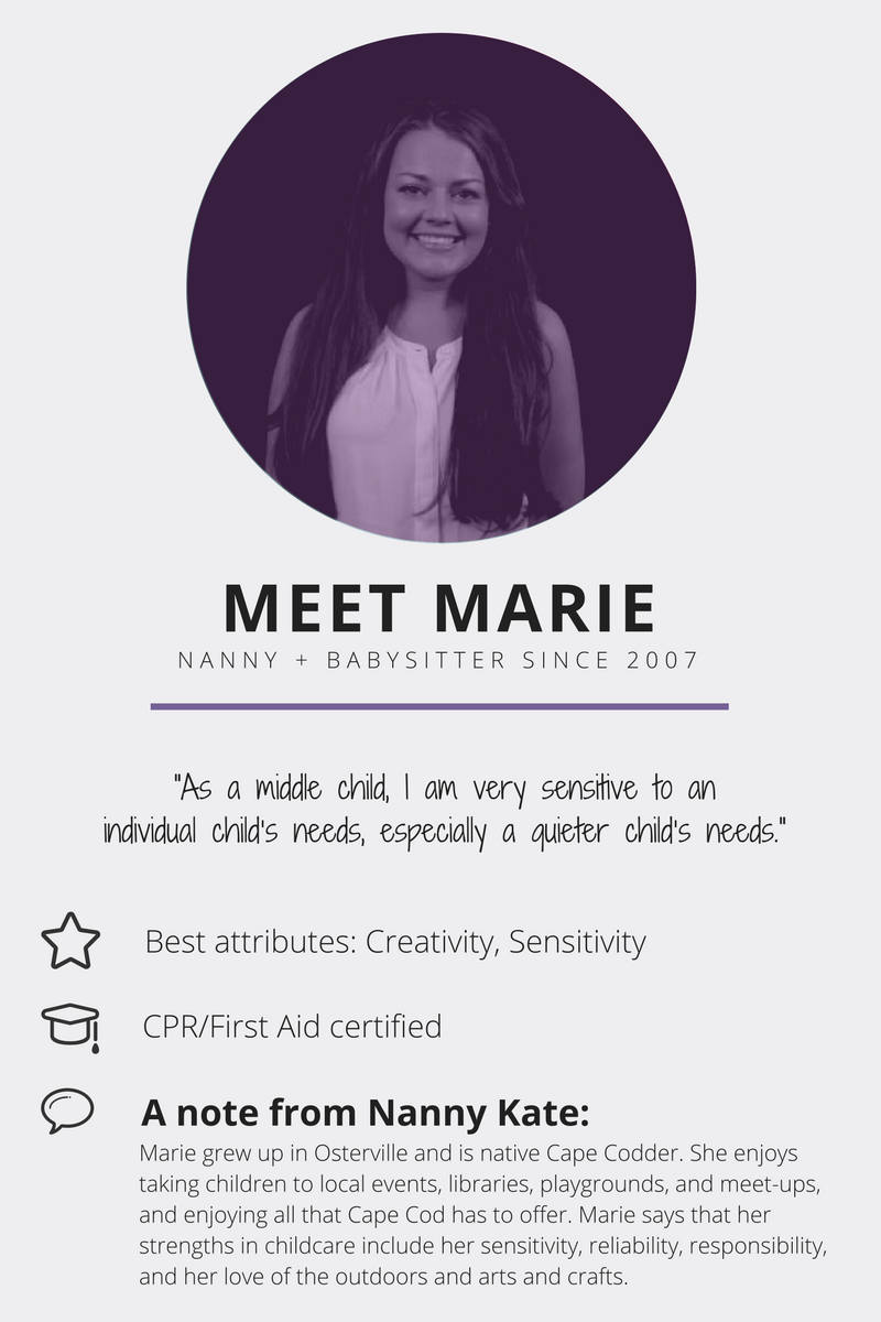 Meet Marie | Nanny Kate & Co.